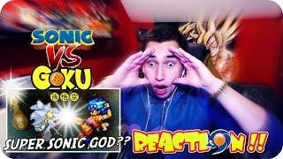 A SUPER SONIC SHOWDOWN!! | Goku VS Sonic REACTION! (By Studio B)