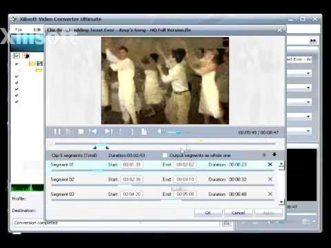 Wedding Dance Edited with Xilisoft Video Converter (How to Edit and Convert Videos)
