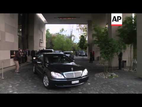 Iran and EU delegations arrive for talks on Iran's nuclear capability