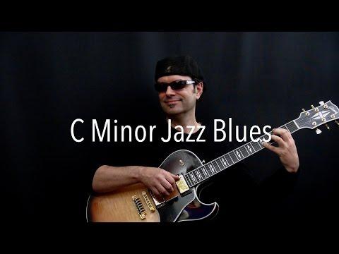 C Minor Jazz Blues - Achim Kohl - Jazz Guitar Improvisation With Tabs