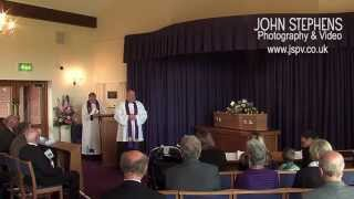 Funeral video Mrs Madge Howe Lichfield Staffordshire JSPV