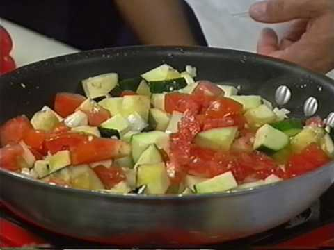 CHEF MARK ZIMMER makes RATTATOUILLE live on NOON NEWS 5