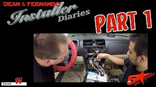 It's time for a  Hummer 3 with some crazy loud sound  PART 1 Install Dairies 91