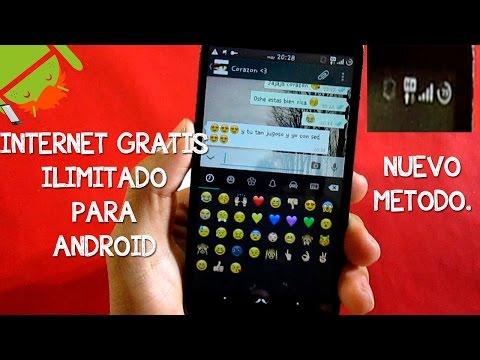 INTERNET GRATIS E ILIMITADO PARA ANDROID | BIEN EXPLICADO | NUEVO MÉTODO | FEBRERO 2015