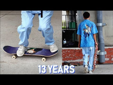 13 YEARS TO LEARN HEELFLIPS CORRECTLY