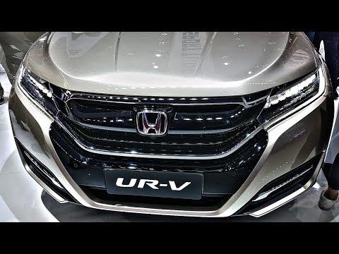 Вот ТАКУЮ Хонду мы ХОТИМ! И Тойота Камри. Honda UR-V - новый ТОП кроссовер!