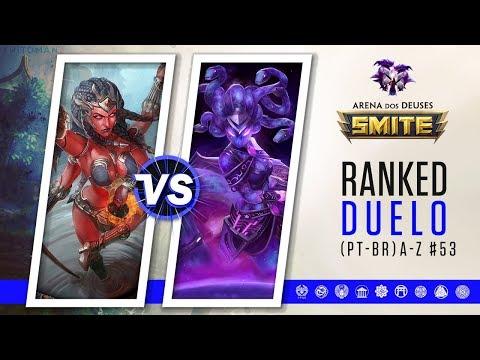 Kali vs Medusa | Build Full POWER! - Ranked Duelo A-Z #53 | Smite Season 5 (PT-BR)