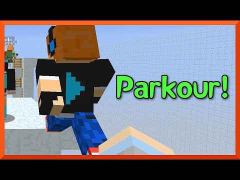 Minecraft - Party Parkour on Happy Hunger Games with Gamer Chad Alan