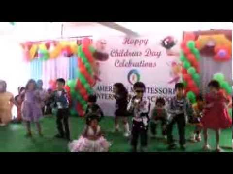 "Children's Day Celebration in ""American Montessori School"" Kadapa"