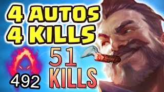 THE MOST BROKEN VIDEO I'VE EVER DONE | PENTAKILL RAGE | NEW 100% CRIT VICTORIOUS GRAVES - Nightblue3