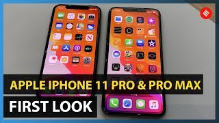 Apple iPhone 11 Pro &  Pro Max Hands on & First look