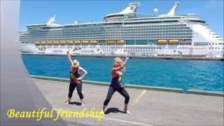 ENRIQUE IGLESIAS - SUBEME LE RADIO New zumba cruise choreo with Patricia Pokrivac and friends