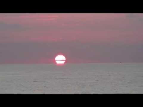 Chanting Of The Gayatri Mantra During Sunrise Meditation