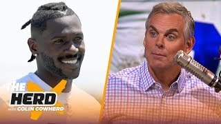 Colin: Cowboys should 'roll the dice' & start year without Zeke, talks Hard Knocks | NFL | THE HERD