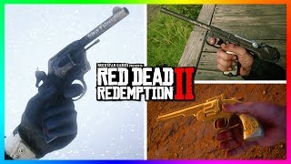 Top 10 BEST Weapons In Red Dead Redemption 2! (RDR2 Secret & RARE Guns)