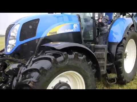 New Holland T6090 test drive & overview 2011