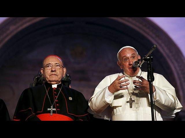 استقبال از پاپ در اکوادور