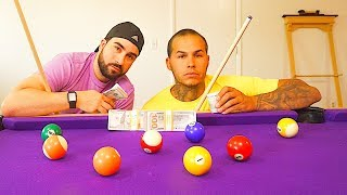 $10,000 POOL GAME BET! WORLD'S BEST POOL PLAYERS!
