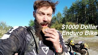 The 1000 Dollar Enduro Bike | The Corduroy Enduro 2018