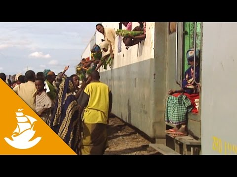 African freight train