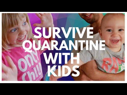 KEEP KIDS ENTERTAINED DURING CORONAVIRUS QUARANTINE - FAMILY LOCKDOWN GUIDE