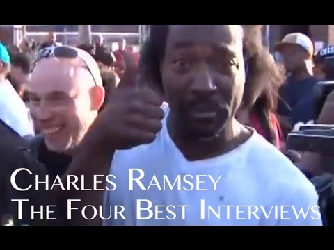 Charles Ramsey Full Four Best Interviews + Uncensored 911 Call