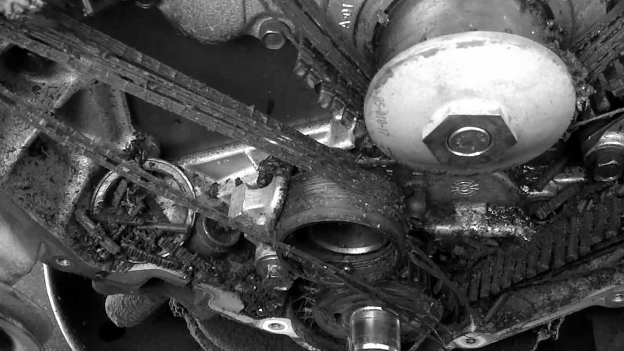Catastrophic Timing Belt Failure