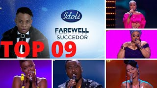Meet your Idols SA season 16 TOP 09