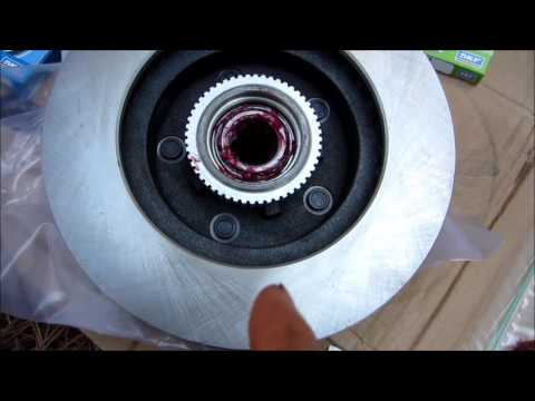 S10 Front Wheel Bearings, Rotors, and Pad Replacement