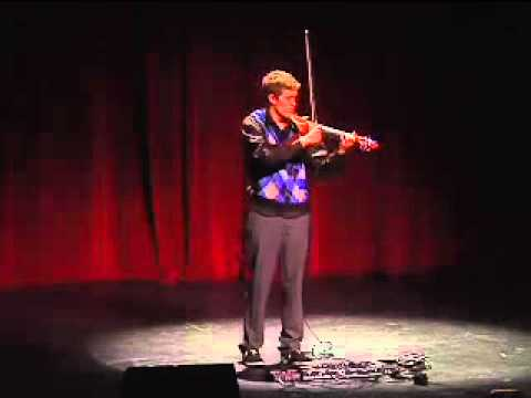 Peter Lee Johnson: Electric Violin Performance