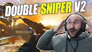 """Noyeux Joël Les Noobs ! DOUBLE """"FUSÉE V2"""" au SNIPER (Call of Duty: WW2)"""