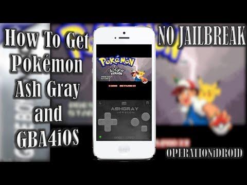 How To Get Pokemon Ash Gray on GBA4iOS (NO COMPUTER) (NO JAILBREAK)