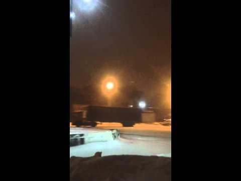 Snow drift Impreza WRX STI Vladivostok#1