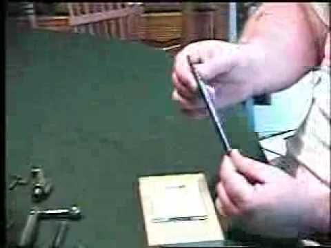 How to disassemble the Mauser Bolt