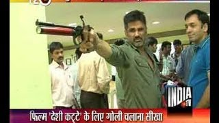 Sunil Shetty turns shooter for upcoming movie