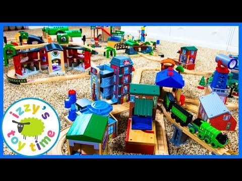 Thomas and Friends Sodor VS Brio! Fun Toy Trains for Kids