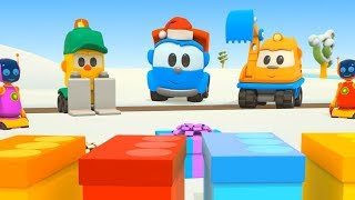 Aspettando il Natale con Leo il camion e le sue amiche macchinine - Cartoni per bambini
