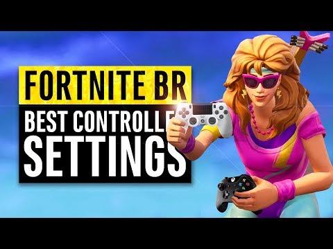 Fortnite BR   Best Controller Settings (Sensitivity Guide)