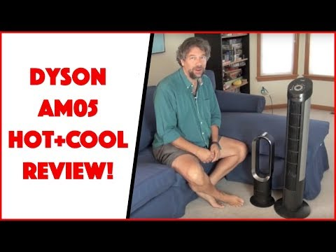 dyson am05 hot cool rotating floor fan reviewed how to make do everything. Black Bedroom Furniture Sets. Home Design Ideas