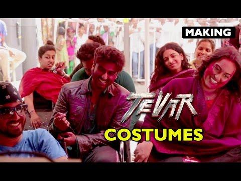 Making Of Tevar | Costumes | Arjun Kapoor, Sonakshi Sinha & Manoj Bajpayee