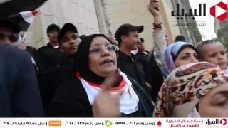 وقفة أنصار أحمد موسى أمام دار القضاء