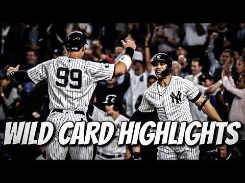 Yankees Highlights | AL Wild Card Game 2018 (vs A's)