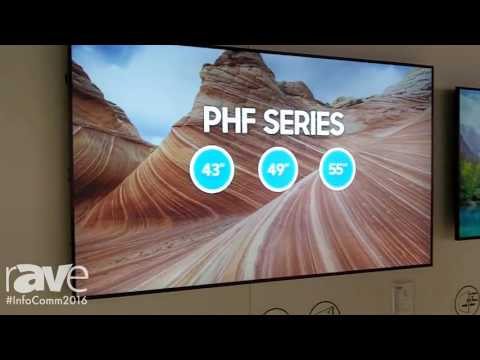 InfoComm 2016: Samsung Intros PH55F Display