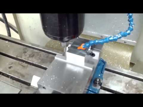Simple HAAS CNC Program with Renishaw Probe