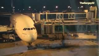 Airbus A380-800 Emirates in Incheon International Airport