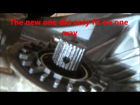 CV axle replacement Subaru Outback 2000 Legacy Forester Install Remove Replace front drive axle
