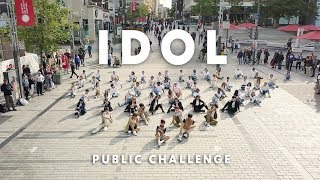 [KPOP FLASHMOB IN PUBLIC MONTREAL] BTS (방탄소년단) - IDOL | Dance Cover by 2KSQUAD [BOYS VER.]