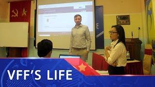 Hội thảo thực hành hệ thống quản lý thi đấu CMS Liên đoàn thành viên AFC | VFF Channel