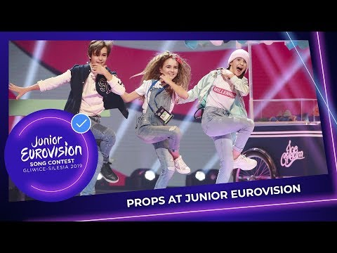 Props at the Junior Eurovision Song Contest