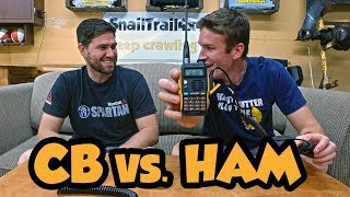 What is the difference between CB Radios and Ham Radio?